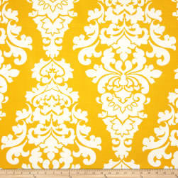 Premier Prints Indoor/Outdoor Berlin Yellow Fabric