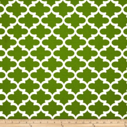 Premier Prints Indoor/Outdoor Fulton Bay Green Fabric