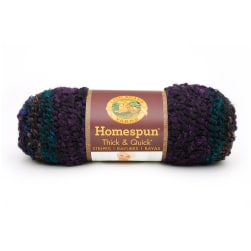Lion Brand Yarn Homespun Thick & Quick Tartan Stripes