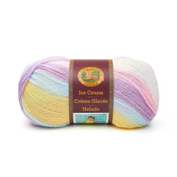 Lion Brand Yarn Ice Cream Cotton Candy