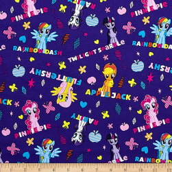 Hasbro My Little Pony Ponies and Names Purple