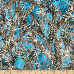 Minky True Timber Woodlands Blue Fabric