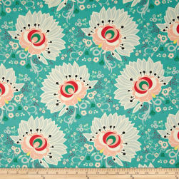 Art Gallery Rapture Euphloria Coral Fabric