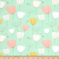 Art Gallery Littlest Floral Frolic Apricot Fabric