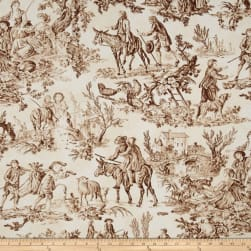 Riley Blake Home Decor Fable Brown Fabric