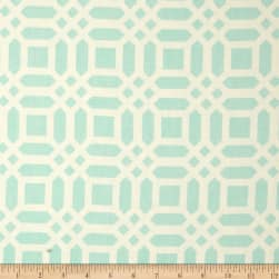 Riley Blake Home Decor Vivid Lattice Aqua