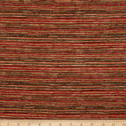 Tempo Double Color Chenille Chic Crimson Fabric