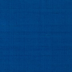 Dupioni Silk Fabric Royal Blue Fabric