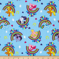 Hasbro My Little Pony Best Friends Blue Fabric