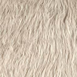 Shannon Lux Fur Curly Alpaca Latte Fabric
