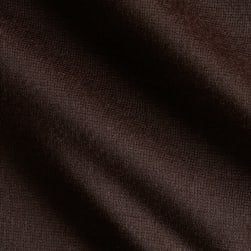 Fabric Merchants Ponte de Roma Solid Chocolate Fabric
