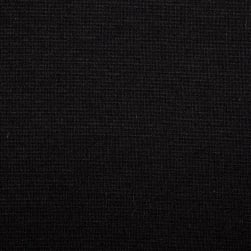 Fabric Merchants Ponte de Roma Solid Black Fabric