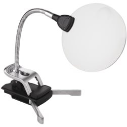 Naturalight StarMag LED Flexilens W/Base & Clip Silver