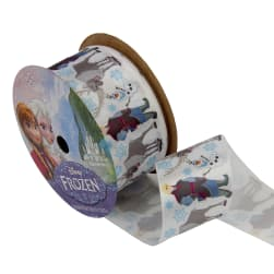 "1 1/2"" Frozen Ribbon The Guys Multi 3YD Spool"