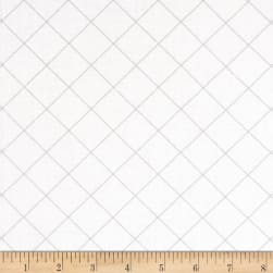Doe 108 In. Wide Quilt Back Trellis Graphite