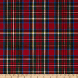 Kaufman House of Wales Lawn Plaid Multi Fabric