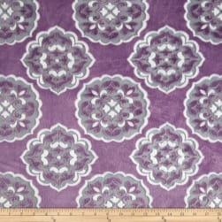 Shannon Minky Mar Bella Cuddle Barcelona Violeta Fabric