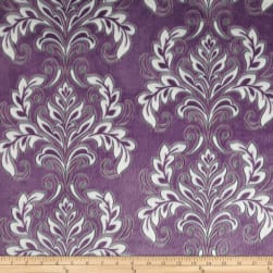 Shannon Minky Cuddle Mar Bella Madrid Violeta Fabric