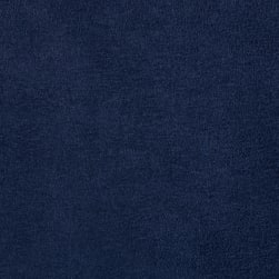 Shannon Cuddle Suede Navy Fabric