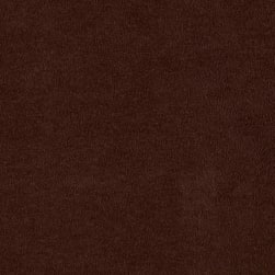 Shannon Minky Cuddle Suede Chocolate Fabric