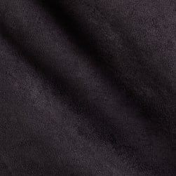 Shannon Minky Cuddle Suede Black Fabric