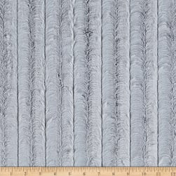 Shannon Minky Luxe Cuddle Chinchilla Silver Fabric