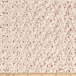 Shannon Minky Frosted Rose Cuddle Coral/Beige