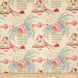 Bon Bon Bebe Bo Peep Cream Fabric