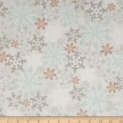 Kanvas Shades of Winter Winter Haze Neutral Fabric