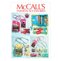 McCall's Phone Purse, Rewards Card Wallets and Coupon Clutches Pattern M6768 Size OSZ