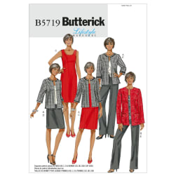Butterick Misses'/Women's Jacket, Dress, Skirt and Pants Pattern