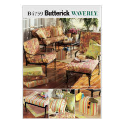Butterick Outdoor Living Pattern B4759 Size OSZ