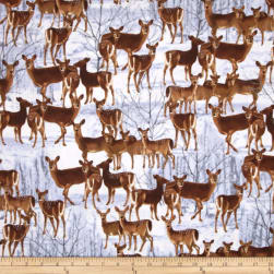 Kanvas The Great North Wilderness Flannel Whitetail Does
