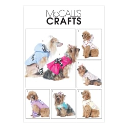 McCall's Pet Clothes Pattern M6218 Size OSZ