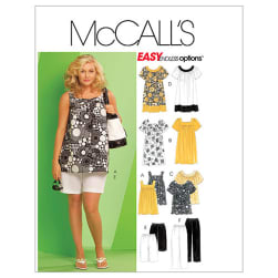 McCall's Women's Tops, Dresses, Shorts and Capri Pants Pattern M5640 Size KK0