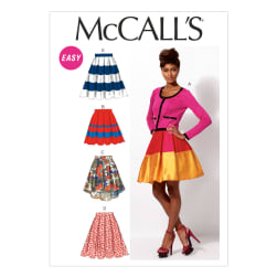 McCall's Misses' Skirts and Petticoat Pattern M6706 Size A50