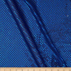 Sequin Dot Fabric Royal Fabric