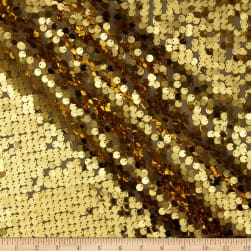 Dazzle Sequin Fabric Gold Fabric