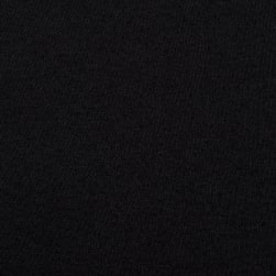 Interlock Knit Black Fabric