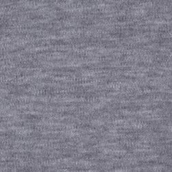 Interlock Knit Heather Grey Fabric