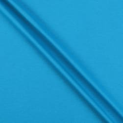 Interlock Knit Turquoise Fabric