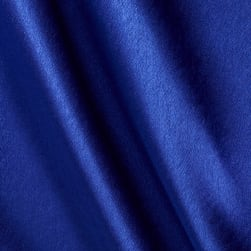 Poly Crepeback Satin Royal Fabric
