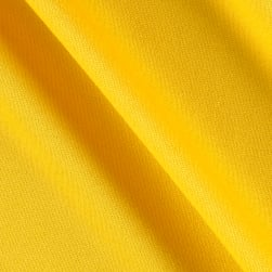 Pon Te Am Scuba Knit Lemon Yellow Fabric