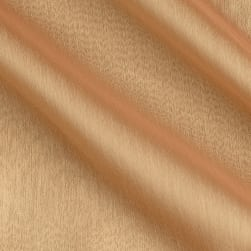 Poly Two Tone Chiffon Mocha/Gold Fabric
