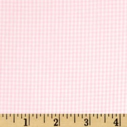 Wide Width 1/16 Gingham Check Pink Fabric