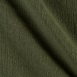 Island Breeze Gauze Olive Fabric