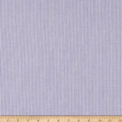 Cotton Seersucker Stripe Lavender/White Fabric