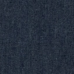 Indigo Denim 8.5 oz Dark Unwashed Blue Fabric