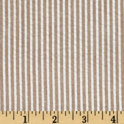 Regatta Seersucker Tan Fabric