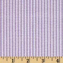 Regatta Seersucker Lilac Fabric